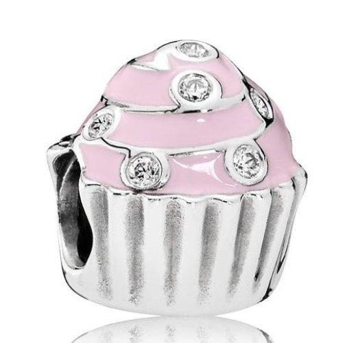 Pandora Sweet Cupcake Charm - 791891EN68