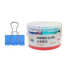 24 Pcs Metal Binder Clip Folder Ticket Clip Stationery Dovetail Clip [5.1cm]
