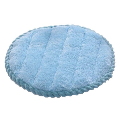 [V] Soft Flannel Round Stool Cover Bar Stool Seat Pad