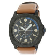 Citizen Eco-Drive CTO DRIVE Leather Mens Watch BJ6475-00E