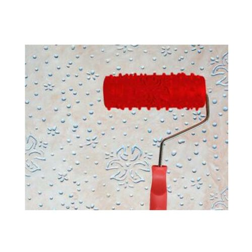 Classical Embossed Paint Roller Wall Painting Runner Wall DIY Tool, Pattern 19