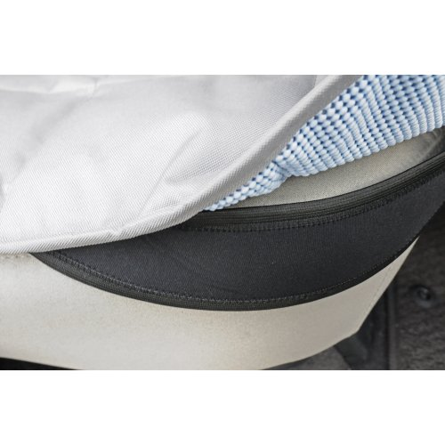 "Petego Rear Car Seat Protector Hammock 52""X64""-Black"