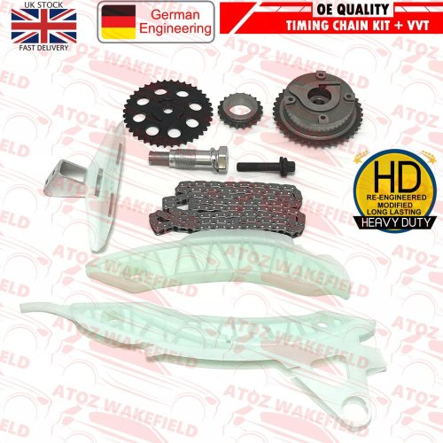 FOR CITROEN C4 PICASSO C5 DS3 DS4 DS5 EP6DT EP6CDT 1.6 TIMING CHAIN KIT VVT GEAR