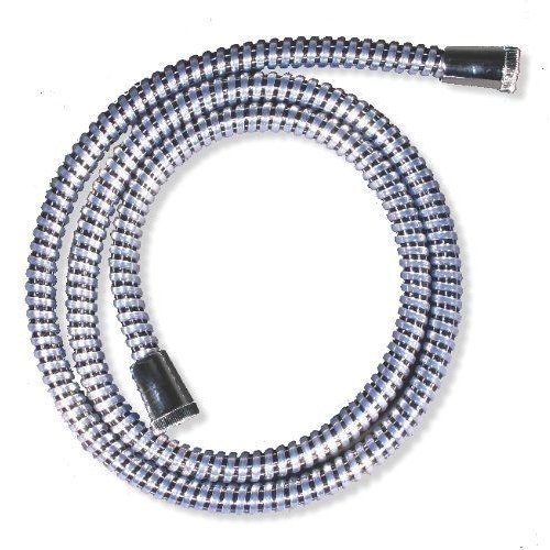 Chrome shower hose 1.5m long PVC Coated Anti-Kink