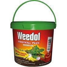 Weedol Rootkill Plus Weedkiller Tubes Tub (Pack of 18)
