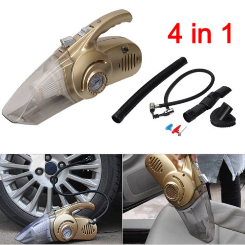 4 in 1 100W 12V Mini Portable Cars Truck Vacuum Cleaner Hoover Dust Collector UK