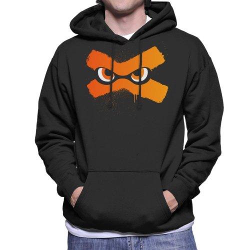 Splat Eyes Splatoon Men's Hooded Sweatshirt
