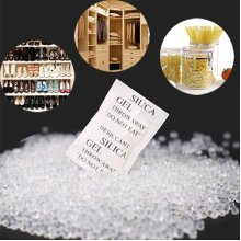 150pcs Silica Gel Desiccant Absorb Moisture Multipurpose Drying Agent Bags