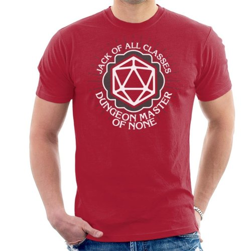 04d23d0fe (XX-Large) Dungeon Master Of None Men's T-Shirt on OnBuy