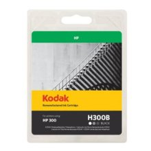 Kodak Remanufactured HP HP300/CC640EE Black Inkjet Ink, 9ml
