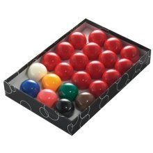 """2"""" Snooker Ball 22 Piece Set - Powerglide Balls Classic Standard 51mm Boxed -  powerglide snooker balls classic standard 22 set 51mm boxed"""