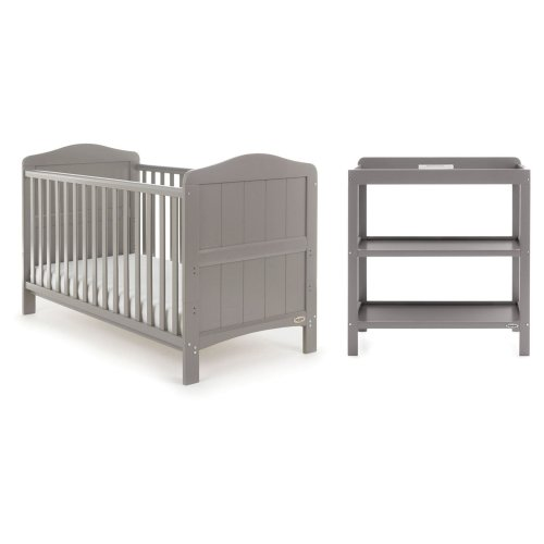 Obaby Whitby 2 Piece Room Set  - Taupe Grey