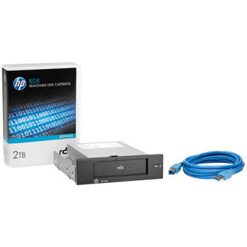 Hewlett Packard Enterprise RDX 2TB USB3.0 Internal Disk Backup System Internal RDX 2000GB tape drive