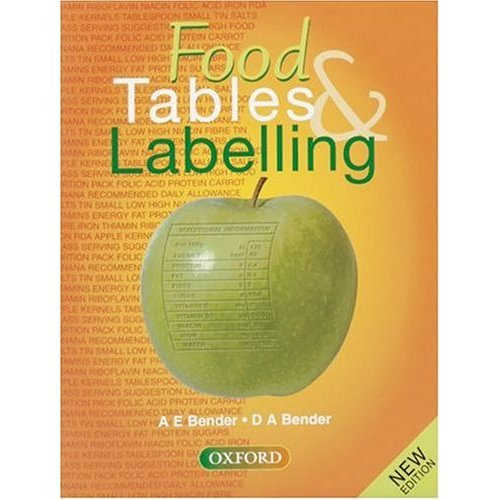 Food Tables and Labelling: Combined Edition