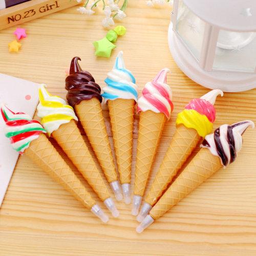 Magnetic Ice Cream Ballpoint Gel Pens