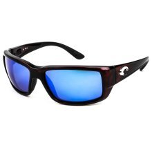 Costa Del Mar Fantail Polarized Tortoise Men Sunglasses TF-10-OBMGLP