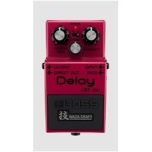 Boss DM-2W Waza Craft Delay Compact Effects Pedal