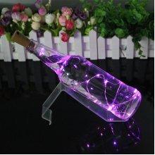Wine Bottle String Lights Champagne Cork LED Light