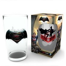 Batman Vs Superman Logo Pint Glass