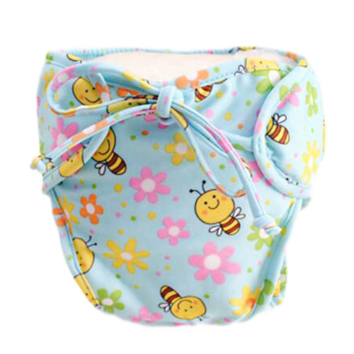 Reusable Swim Diaper Adjustable Absorbent Shower Diapers for Baby Toddler, A16