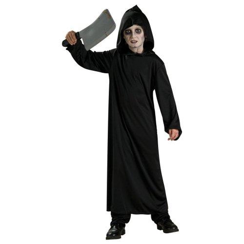 Large Black Childrens Horror Robe Costume
