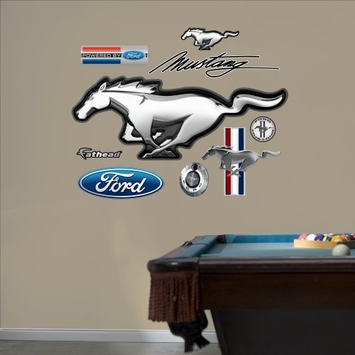 FATHEAD Wall Decal Ford Mustang Logo