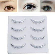 4 Pairs Charming Under Lower False Eyelashes Black Lashes Extension Kit Makeup Cosmetics