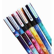 12pcs Pretty Color Gel Ink Pens Marker Pen Highlighters Stationery Stars
