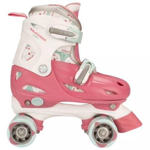 Nijdam Junior Roller Skates 34-37 RWB 52QN
