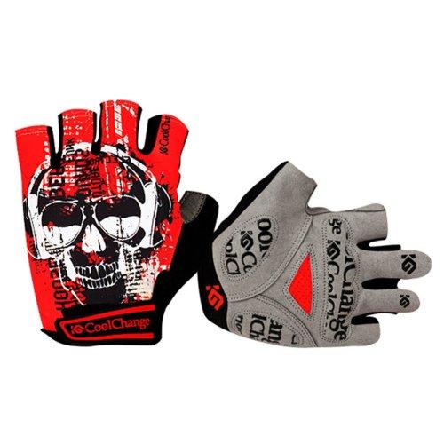 Creative Graffiti Gloves Fingerless Cycling Gloves/Mitts