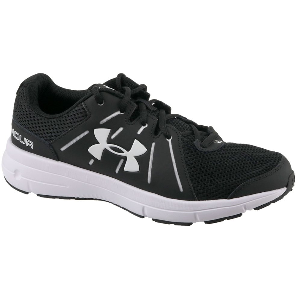 the best attitude 23ace 0c444 Under Armour Dash RN 2 1285671-001 Mens Black running shoes