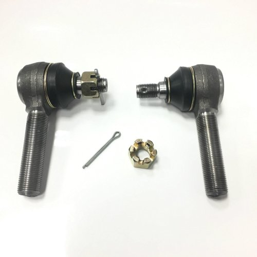 FOR LONDON TAXI LTI TX1 TX2 TX4 TRACK TIE ROD ENDS WITH NUT AND CLIP PAIR NEW