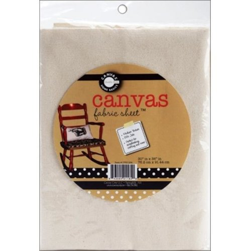 Canvas Corp 466996 Packaged Fabric 30 in. x 36 in. 1-Pkg-Canvas