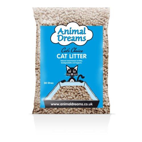 Animal Dreams Cat's Choice Woodbase Cat Litter 30ltr