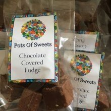 1 Bag of 125g Bag of Chocolate Cover Fudge