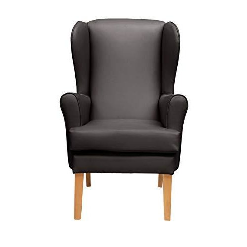 MAWCARE Morecombe Orthopaedic High Seat Chair - 21 x 18 Inches [Height x Width] in Manhattan Brown (lc21-Morecombe_m)