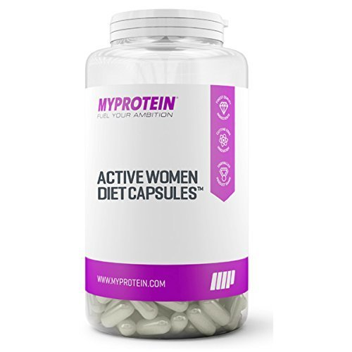 MY PROTEIN Active Woman Diet Capsules Food Supplement, Pack of 180 Capsules