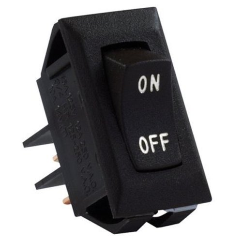 JR Products 0305.1314 Labeled On-Off Switches, Black