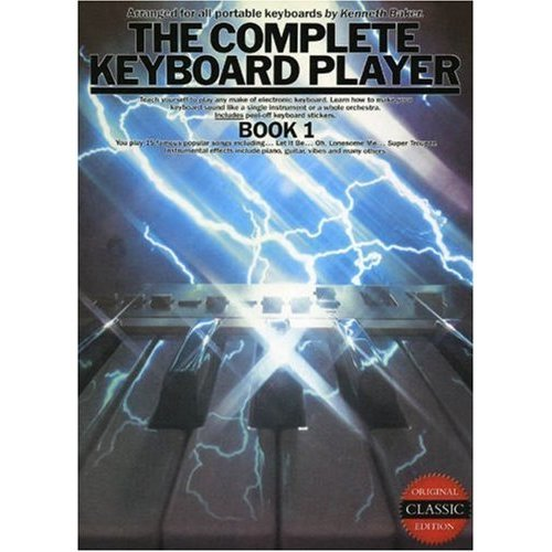 The Complete Keyboard Player: Bk. 1
