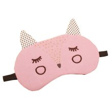 Pink Fox Sleeping Eye Mask for Travelling, Meditation