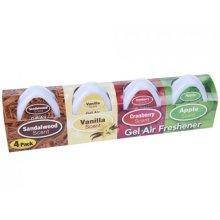 4pk Mini Gel Air Freshner - 12 Fresheners 4 Different Scents Each Lasts Up 45 -  12 mini gel air fresheners 4 different scents each lasts up 45 days
