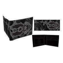 HALO UNSC Logo Multi-Fabric Bi-Fold Wallet - Black (MW0EF2HLO)