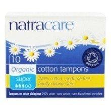 Natracare Organic Tampons | Non-applicator Super x 10