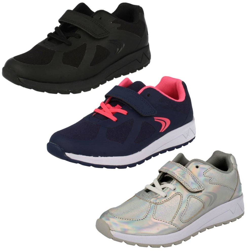 Girls Cica by Clarks Trace Star Trainers Kids' Clothing, Shoes & Accs Clothing, Shoes & Accessories