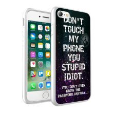 i-Tronixs - Dont Touch My Phone Design Printed Case Skin Cover - 052