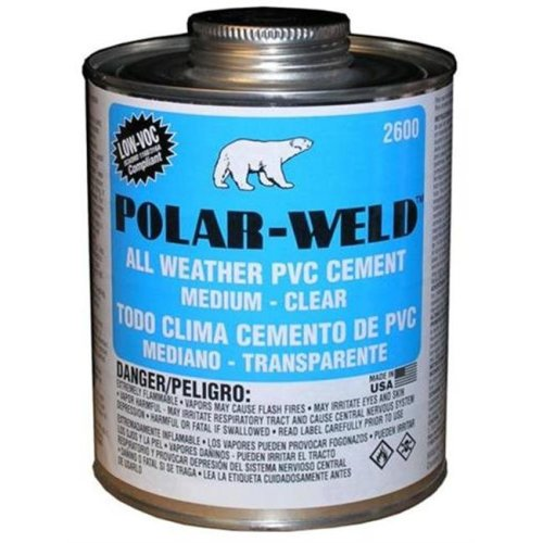 Morris Products G2666S 0.25 Pint Polar-Weld 2600 Cold Weather Cements