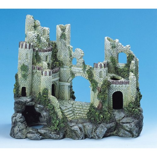 Classic Character Buildings Ancient Castle Ruin 310mm