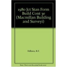 1980 Jct Standard Form of Building Contract: a Commentary for Students and Practitioners (building & Surveying Series)