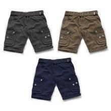 Scruffs Cargo Shorts With Belt Men's Work Combat