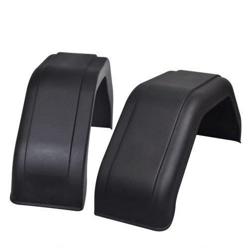 vidaXL 2x Mudguard for Trailer Wheels 200x680mm Car Vehicle Guard Fenders